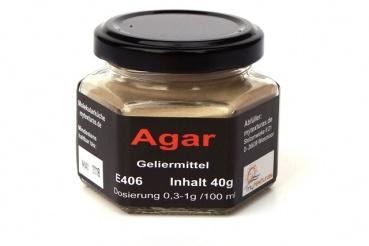Agar, Vegetarische Gelatine, Texturas 40g