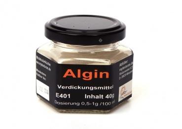 Algin, Natriumalginat, Texturas 40g