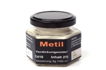 Methylzellulose, Metil, Texturas 25g